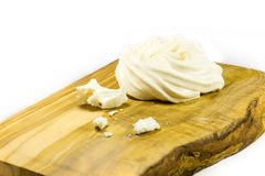 Meringue nests royalty free stock images