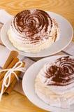 Meringue pastry Royalty Free Stock Image