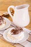 Meringue pastry Stock Photos