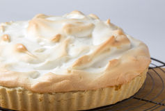 Meringue pie fresh from the oven Stock Photo