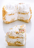 Meringue pie portion Stock Image