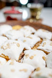 Meringue puff Stock Images