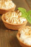 Meringue tart Stock Photos