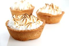 Meringue tart Royalty Free Stock Photography