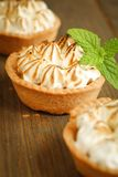 Meringue tart Royalty Free Stock Photos