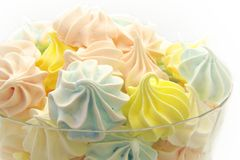 Meringues Foto de Stock Royalty Free
