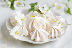 meringues Photographie stock libre de droits