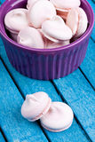 Meringues Stock Photo