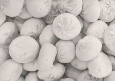 The meringues royalty free stock images