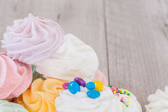 Meringues Mix Royalty Free Stock Photo