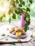 Meringues Stock Photos