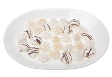 Meringues in white Royalty Free Stock Image