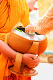 The merit to the monks Royalty Free Stock Image
