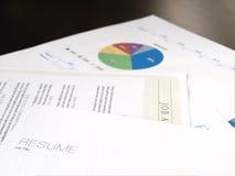 Meritförteckningsammanträde med flera dokument Arkivfoto