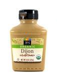 365 merk Organisch Dijon Mustard Stock Afbeeldingen