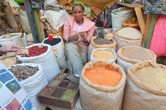 Merkato market Stock Photography