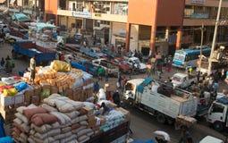 Merkatomarkt stock foto