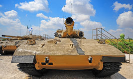 merkava坦克 库存图片