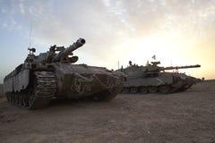 Merkava M 4 Baz Hauptpanzer Lizenzfreie Stockfotos