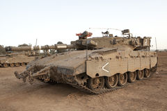 Merkava Mk 4 Baz Main Battle Tank Royalty Free Stock Image