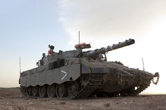 Merkava Mk 4 Baz Main Battle Tank Royalty Free Stock Photos