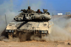 Merkava Tank Royalty Free Stock Photos