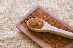 Merken, jest uwędzonym chili pieprzem Fotografia Stock