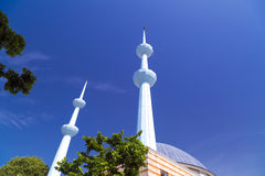 Merkez清真寺,亚洛瓦,土耳其 库存照片
