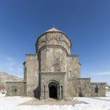 Merkez Kumbet moské i Kars, Turkiet Fotografering för Bildbyråer