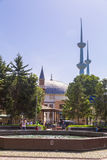 Merkez-Moschee, Yalova, die Türkei Lizenzfreie Stockbilder