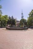 Merkez moské, Yalova, Turkiet Fotografering för Bildbyråer