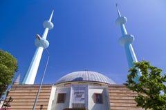 Merkez moské, Yalova, Turkiet Arkivfoto