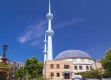 Merkezmoskee, Yalova, Turkije Stock Afbeeldingen