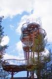 Merkine tower Stock Photography