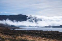 Merkland薄雾 库存图片