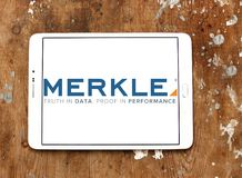 Merkle firmy logo Obraz Stock