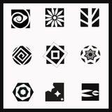 Merkpictogrammen Stock Afbeeldingen