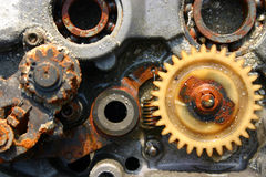 Merkwürdige Maschine Stockbild