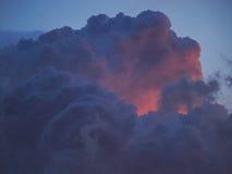 Merkwürdige Wolken Stockfotografie