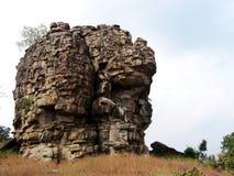 Merkwürdiger Berg Stockbild