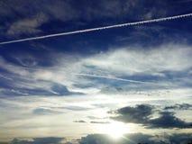 Merkwürdiger Himmel stockfoto