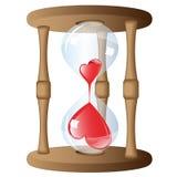 Merkwürdiges Stundenglas Stockbild