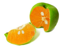 Merkwürdige Frucht. Lizenzfreies Stockfoto