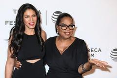 Merle Dandridge en Oprah Winfrey Royalty-vrije Stock Foto