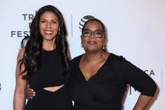 Merle Dandridge y Oprah Winfrey Fotos de archivo libres de regalías