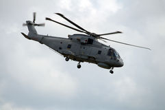 Merlin. RNAS Merlin Helicopter on ground attack role Stock Photography