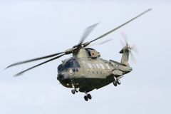Merlin Helicopter Royalty Free Stock Photo
