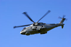 Merlin HM1 Helicopter. Royal Navy Anti-Submarine Warfare Merlin HM1 helicopter Royalty Free Stock Photo