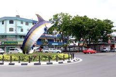 MERLIN-Monument, Kota Kinabalu, Sabah Lizenzfreie Stockbilder