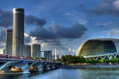 merlion公园新加坡 图库摄影
